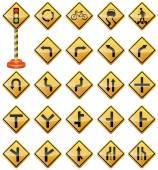 Verkehrszeichen, Verkehrszeichen, Warnschilder, Transport, Sicherheit