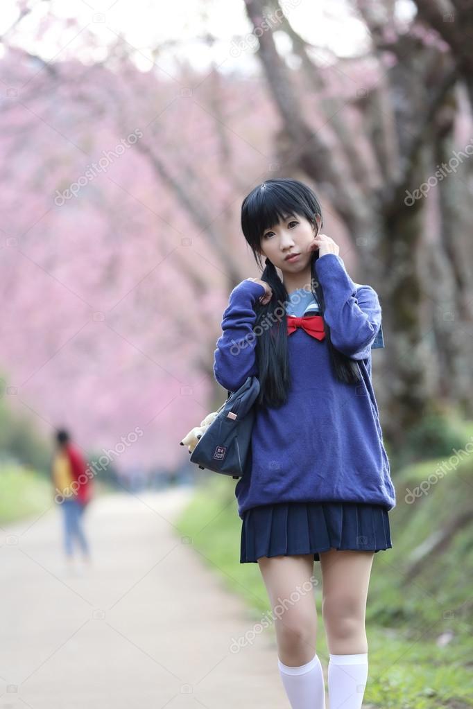 Asiatische SchulmäDchen