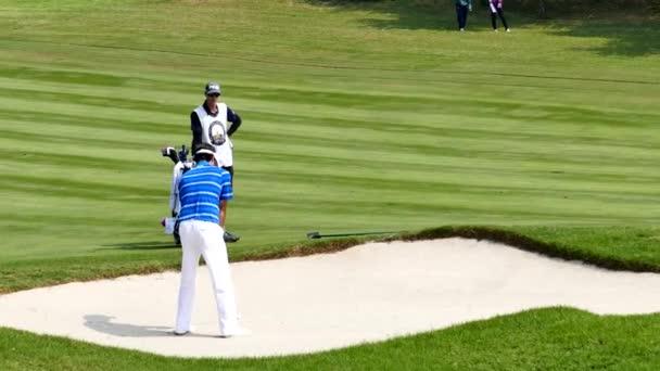Bubba Watson of USA player in Thailand Golf Championship 2015