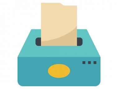 Clip-art Illustration of Napkin Tissue Pack icon