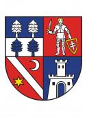 Plochý erb Slovenského kraje (Kraj) Banské Bystrice