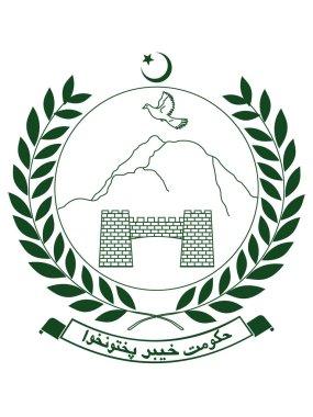 Vector Illustration of the Emblem of Pakistani Province of Khyber Pakhtunkhwa icon