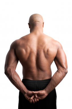 Muscular Back and Shoulders