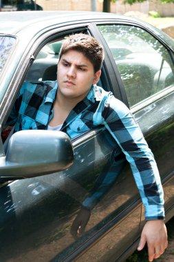 Irritated Car Driver