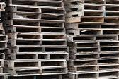 Photo Wooden Skid Pallets