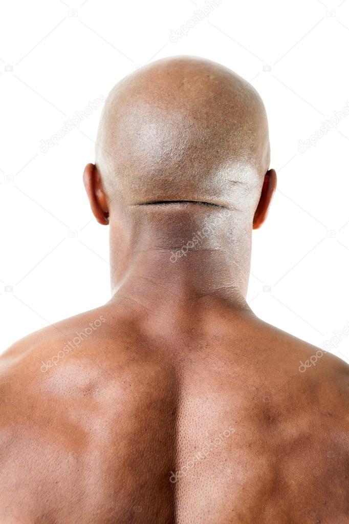 Muscular Mans Back Of Head Stock Photo Arenacreative 94717450