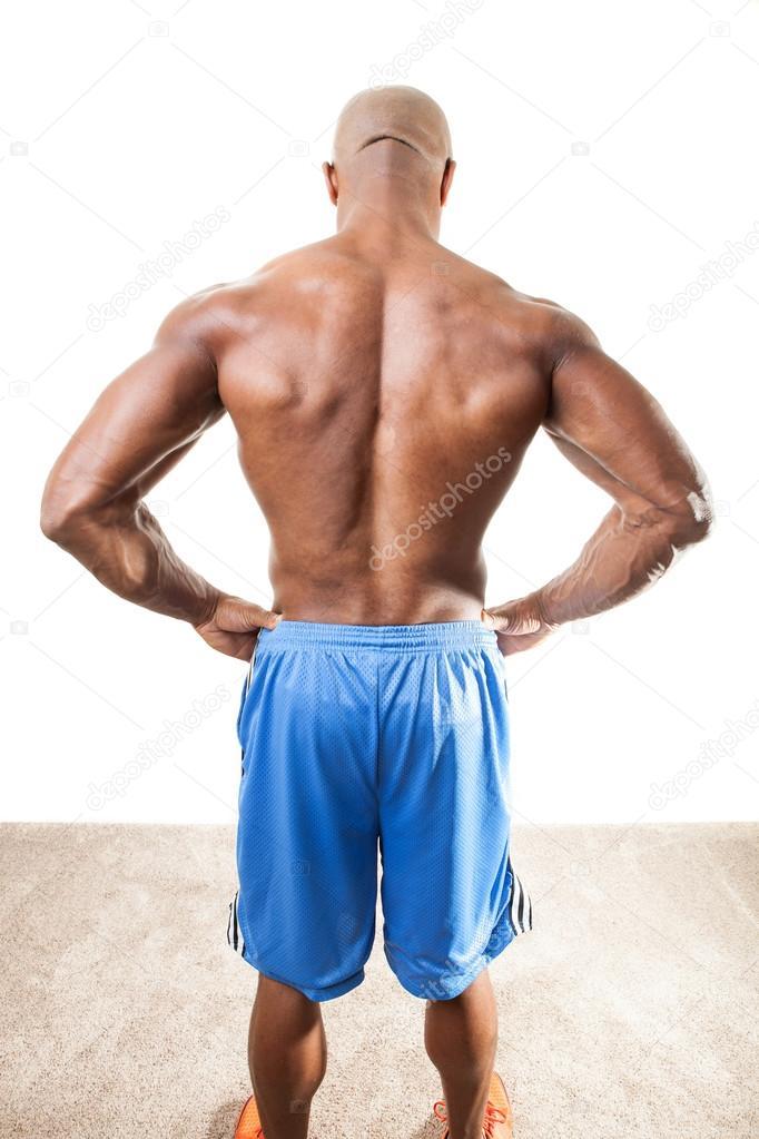 muscular de espalda — Fotos de Stock © ArenaCreative #94733348
