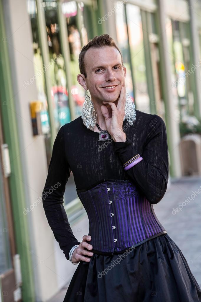 svart transvestit kön