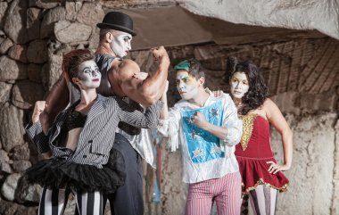 Circus Comedy ensemble