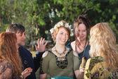 Žena v rituálu pohanského zahájení