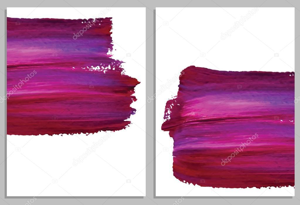 Cartes Darrire Plan Art Abstrait Acrylique Collection De Dinvitation Illustration Vectorielle Vecteur Par Comotom0