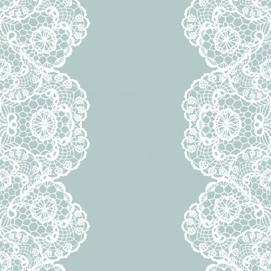 White lace on texture