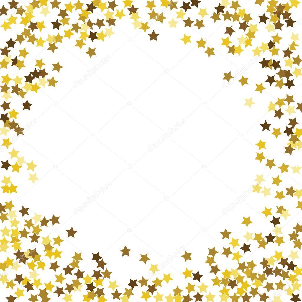 Runde Glitter gold Rahmen — Stockvektor © comotom0 #90356070