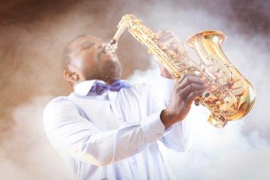 African American jazz musician