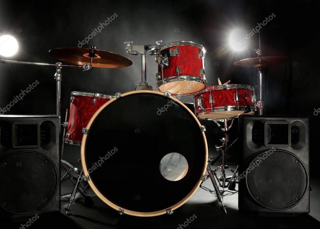 Drum Set On Stage Stock Photo C Belchonock 101657008