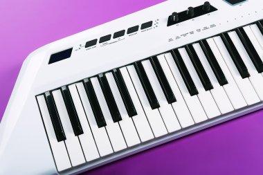 audio Keyboard of synthesizer