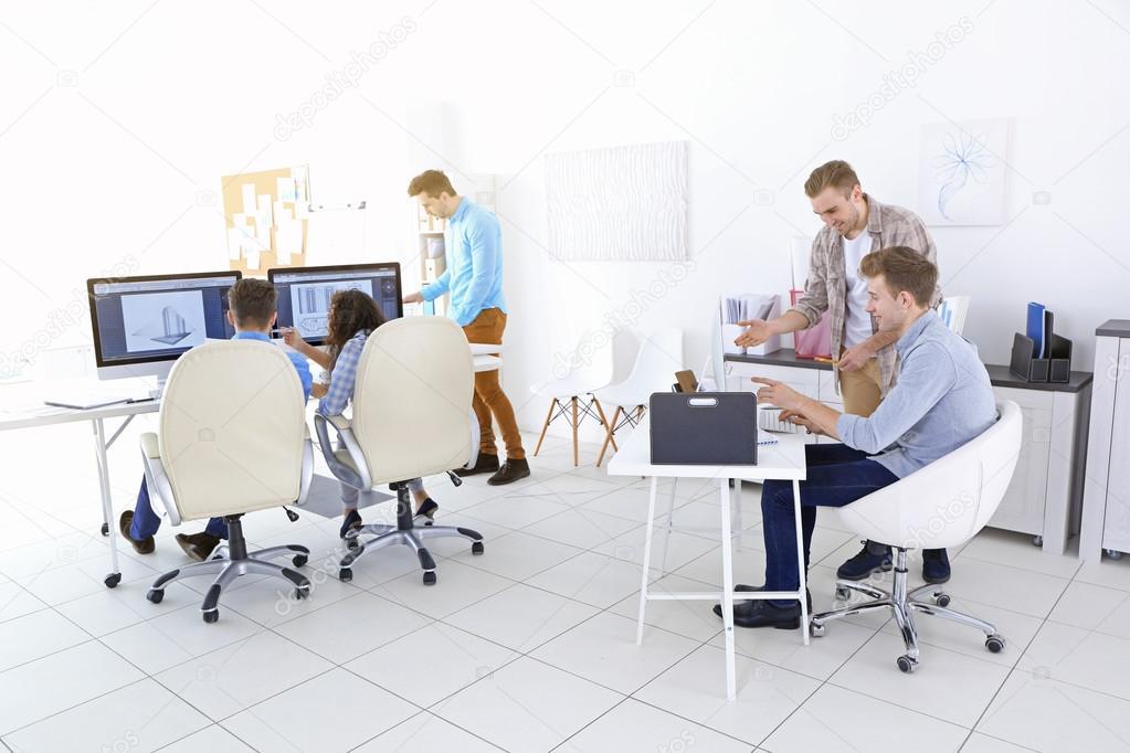 Ufficio Elegante Jobs : Ufficio ingegneri moderno elegante u foto stock belchonock
