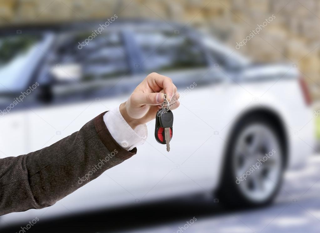 Male Hand Holding Car Keys Stock Photo C Belchonock 111246582
