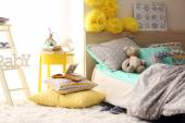 Fényképek a gyermek hálószoba belső