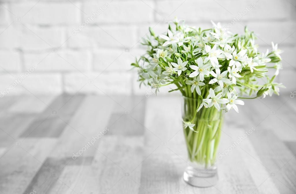 Bouquet of little white flowers — Stock Photo © belchonock #111465538