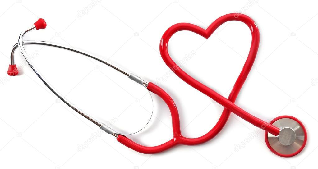 Estetoscopio Médica En Forma De Corazón