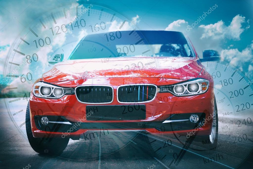 Speedometer Transparent Background Car Stock Editorial Photo
