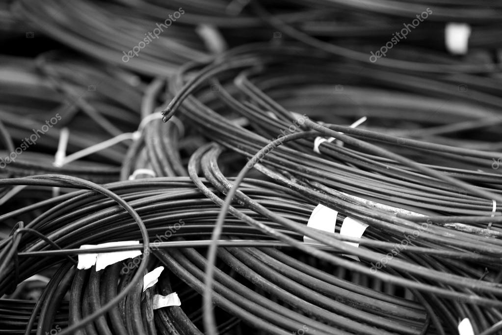 Metall-Draht Hintergrund noch — Stockfoto © belchonock #116191190
