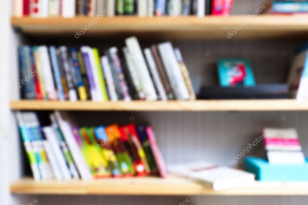Bookshelves Full Of Books Stock Photo C Belchonock 117823868