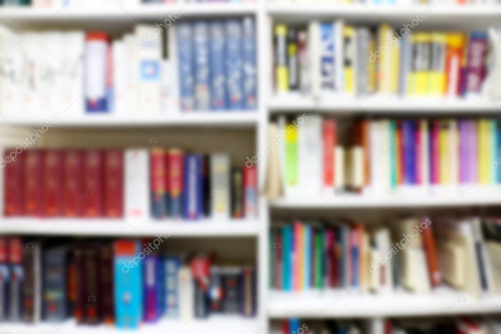 Bookshelves Full Of Books Stock Photo C Belchonock 117833168