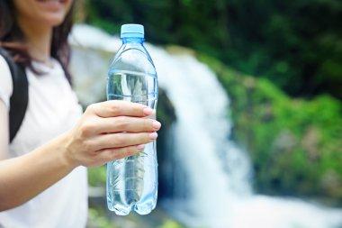 """Картина, постер, плакат, фотообои """"Бутылка чистой воды """", артикул 119688506"""