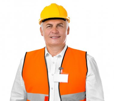mature Construction worker