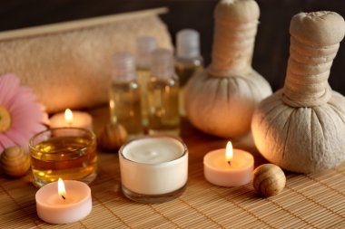 Composition of spa treatments