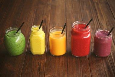 Refreshing fruit smoothie