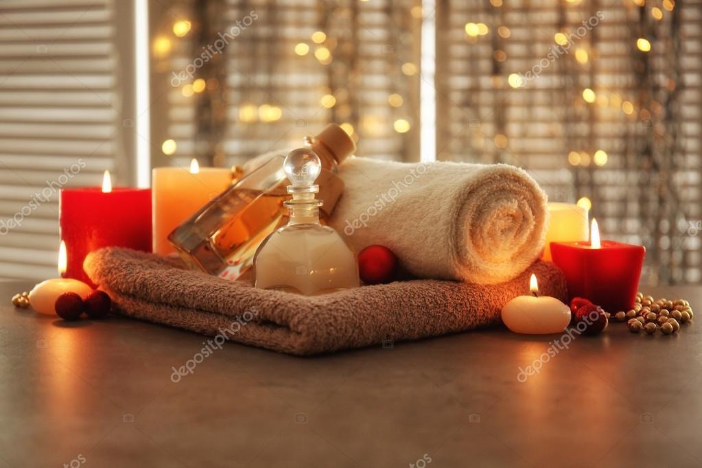 Christmas spa composition