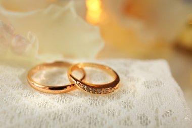 Beautiful wedding rings