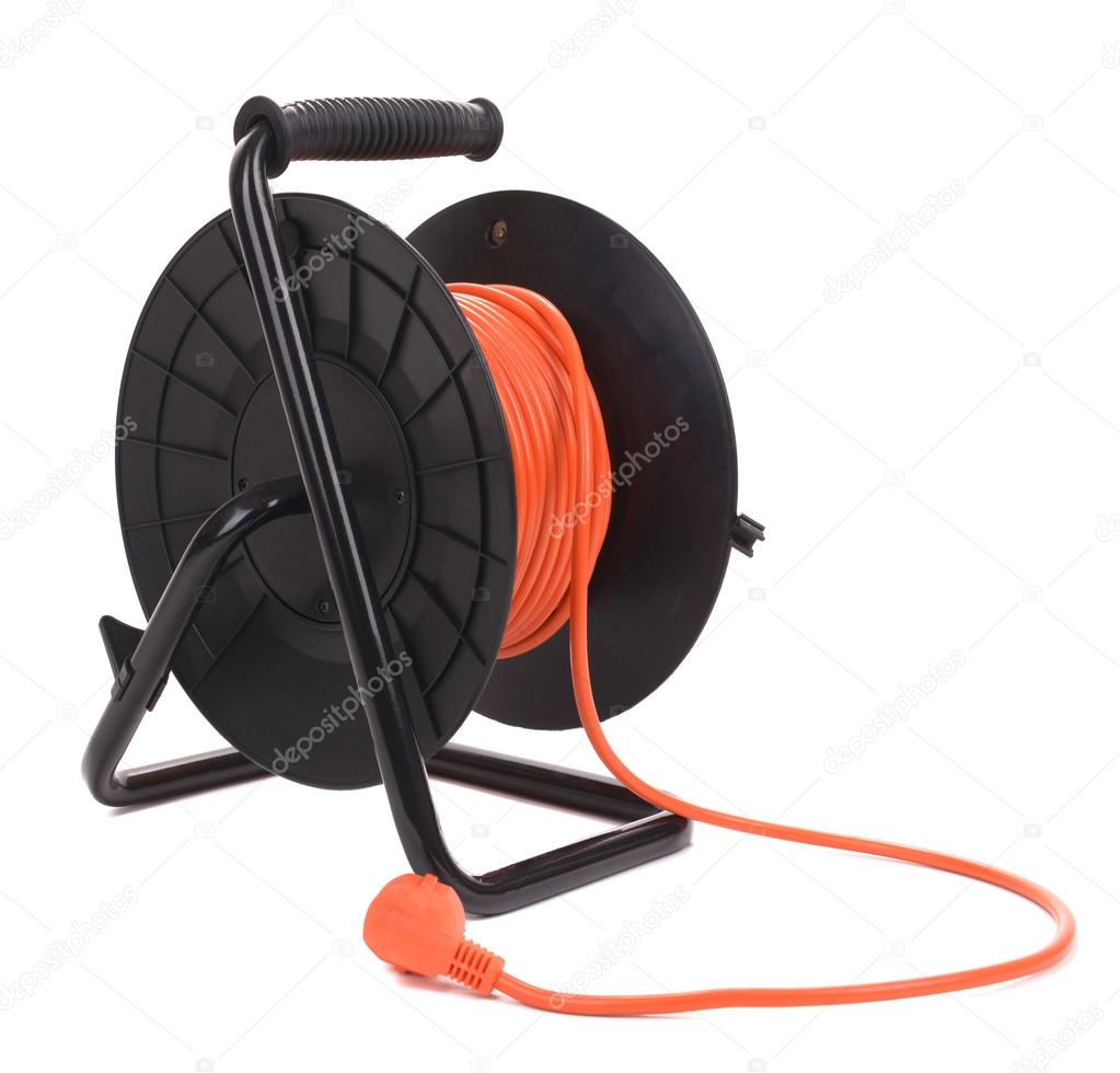 Extension Electric Cable Reel Stock Photo 53953481