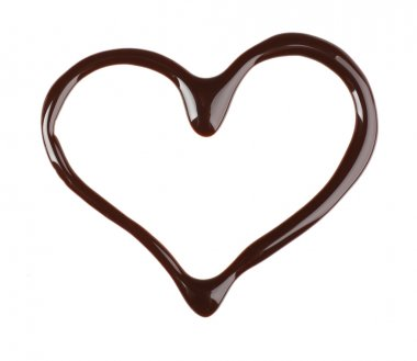 Chocolate syrup drips
