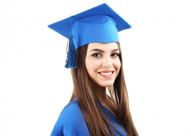 Woman graduate student