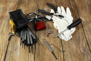 Tools of picking locks