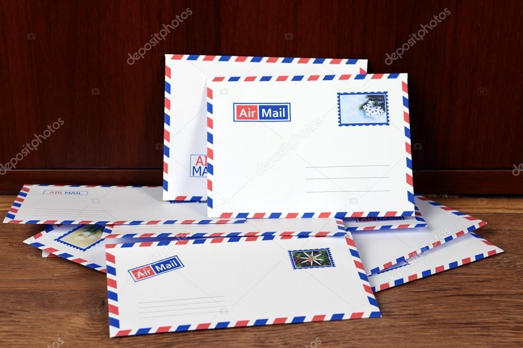 Letters At Front Door Stock Photo C Belchonock 57584579