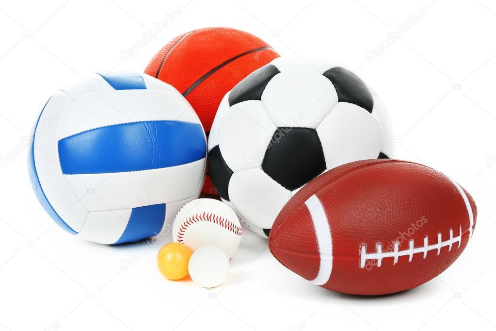 Deportes Diferentes Deportes: Pelotas De Muchos Deportes
