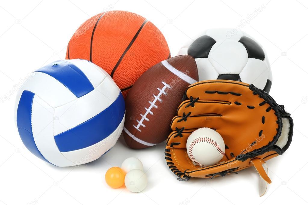 Deportes Diferentes Deportes: Verschillende Sporten Ballen
