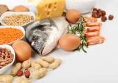 Jídlo v proteinu detail
