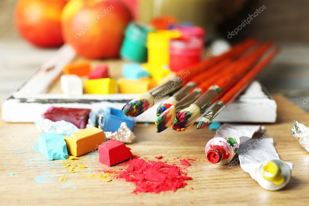 Professional art materials