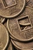 Feng shui érmék közelről