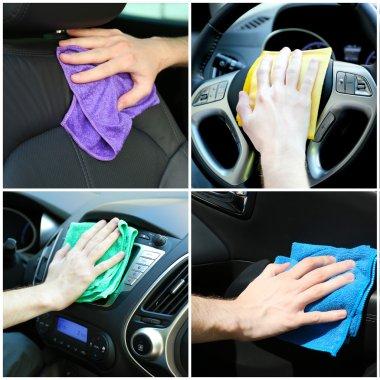 Car-wash collage