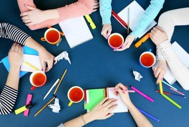 Creative team for work flow