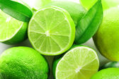 Fotografie Sliced fresh limes