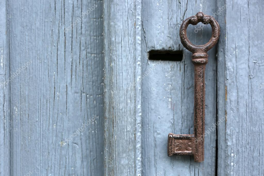 Httpwww Overlordsofchaos Comhtmlorigin Of The Word Jew Html: Old Key On Wooden Antique Door Close-up
