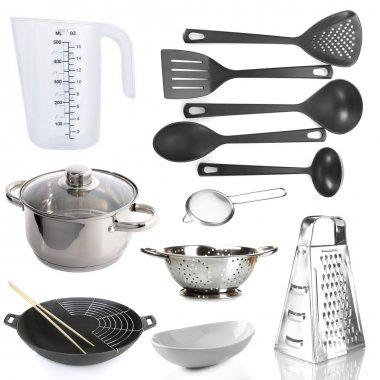 Kitchen utensils isolated